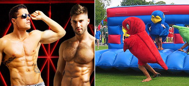 Adonis Strip Show and It's a Knock Out Hen Weekend
