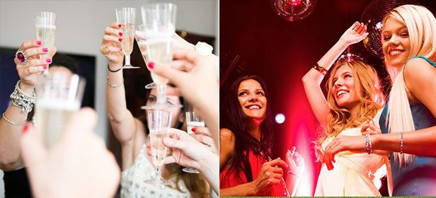 Record a CD & Clubbing Hen Weekend Package
